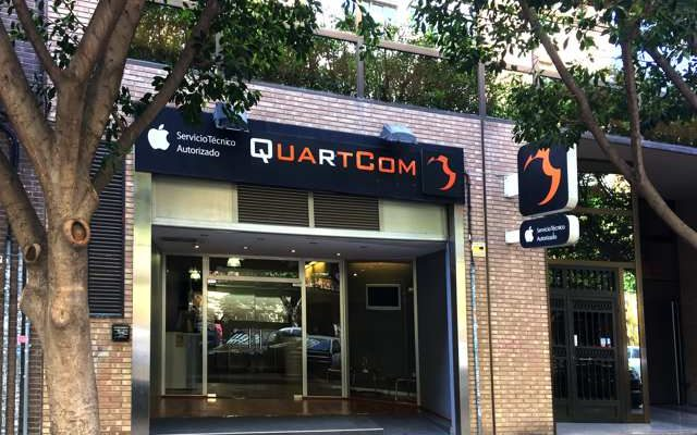 Fachada Tienda Quartcom Valencia