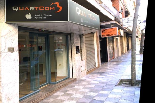 Fachada Tienda Quartcom Albacete